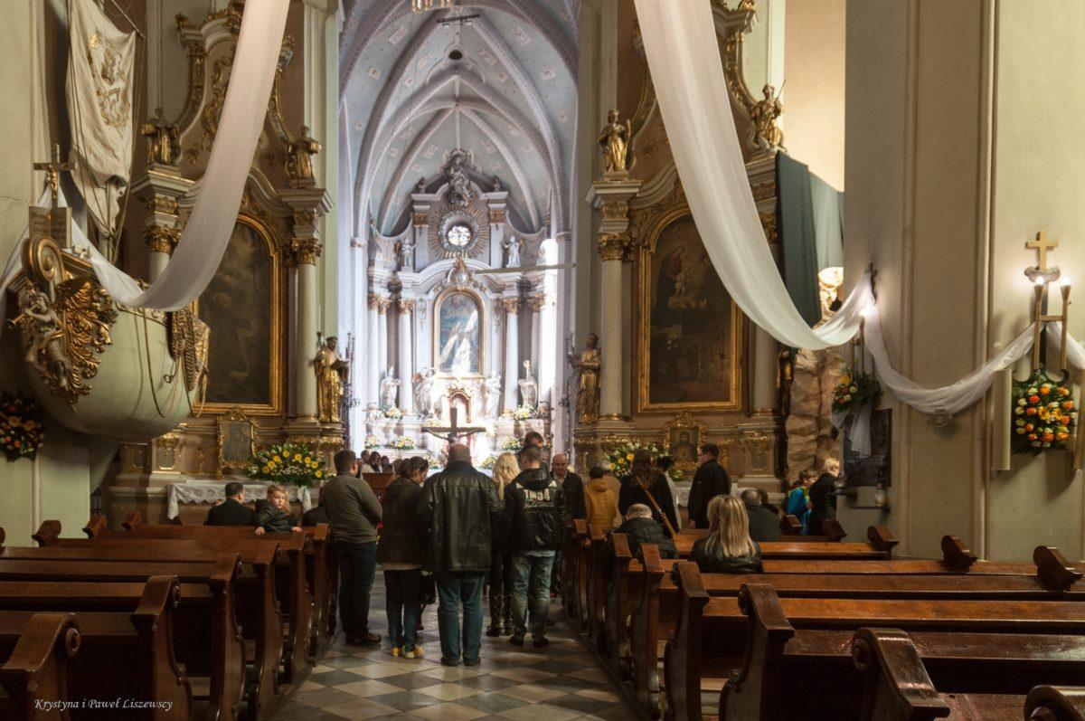 Wielkanoc w kościele franciszkanów