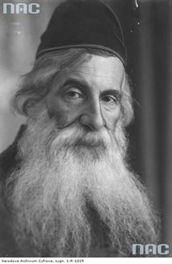 Rabin Lipszyc mieszkał na Wodnej pod numerem 2