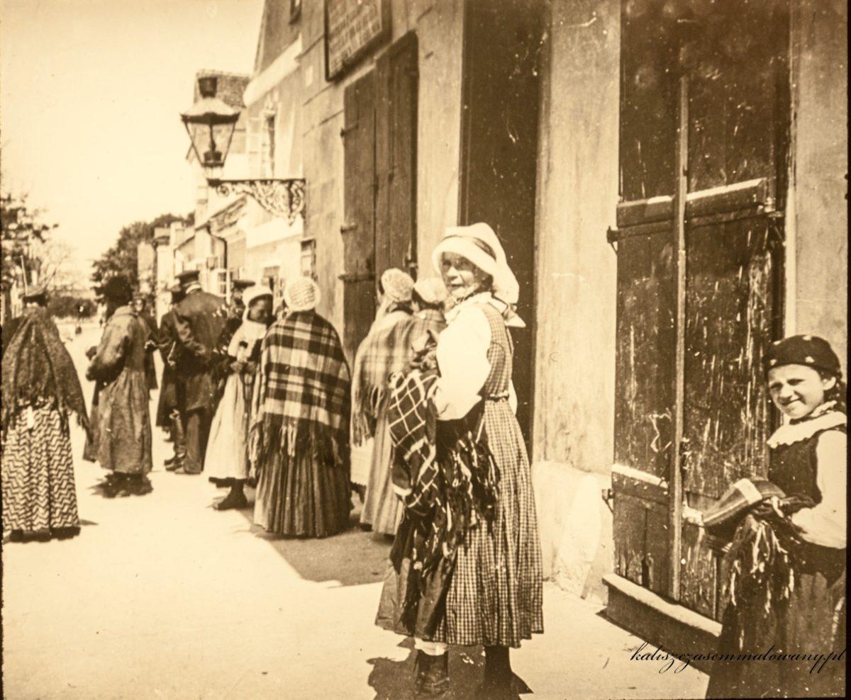 Sieradz z początku XX wieku