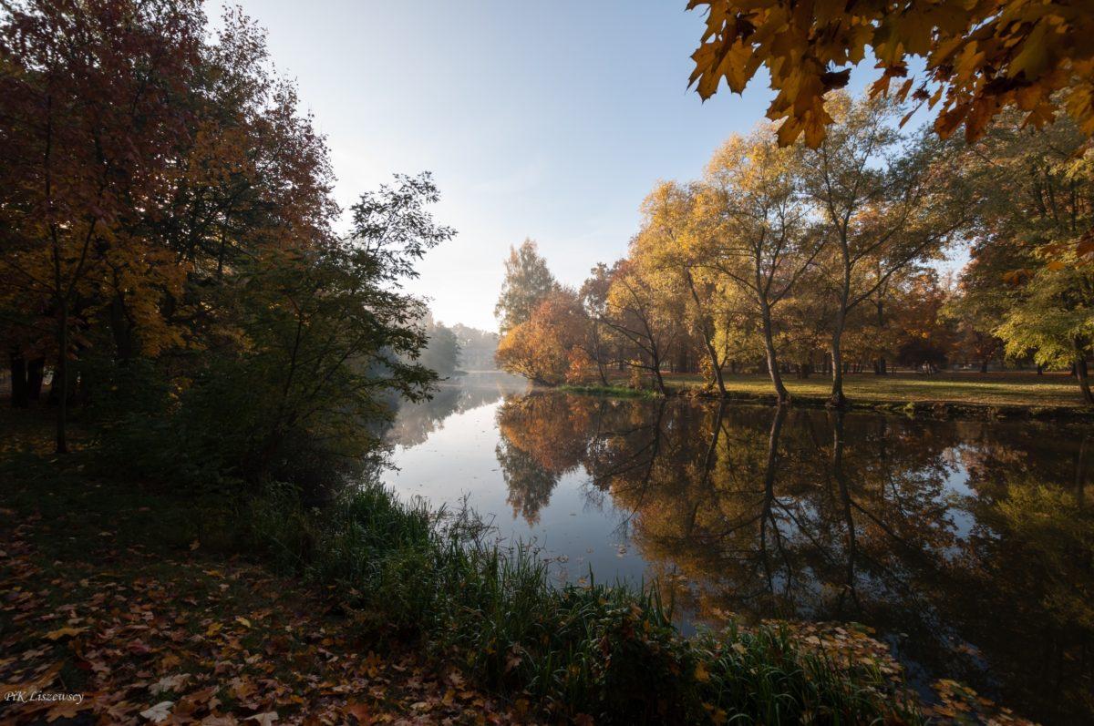 Złota jesień w Parku Miejskim
