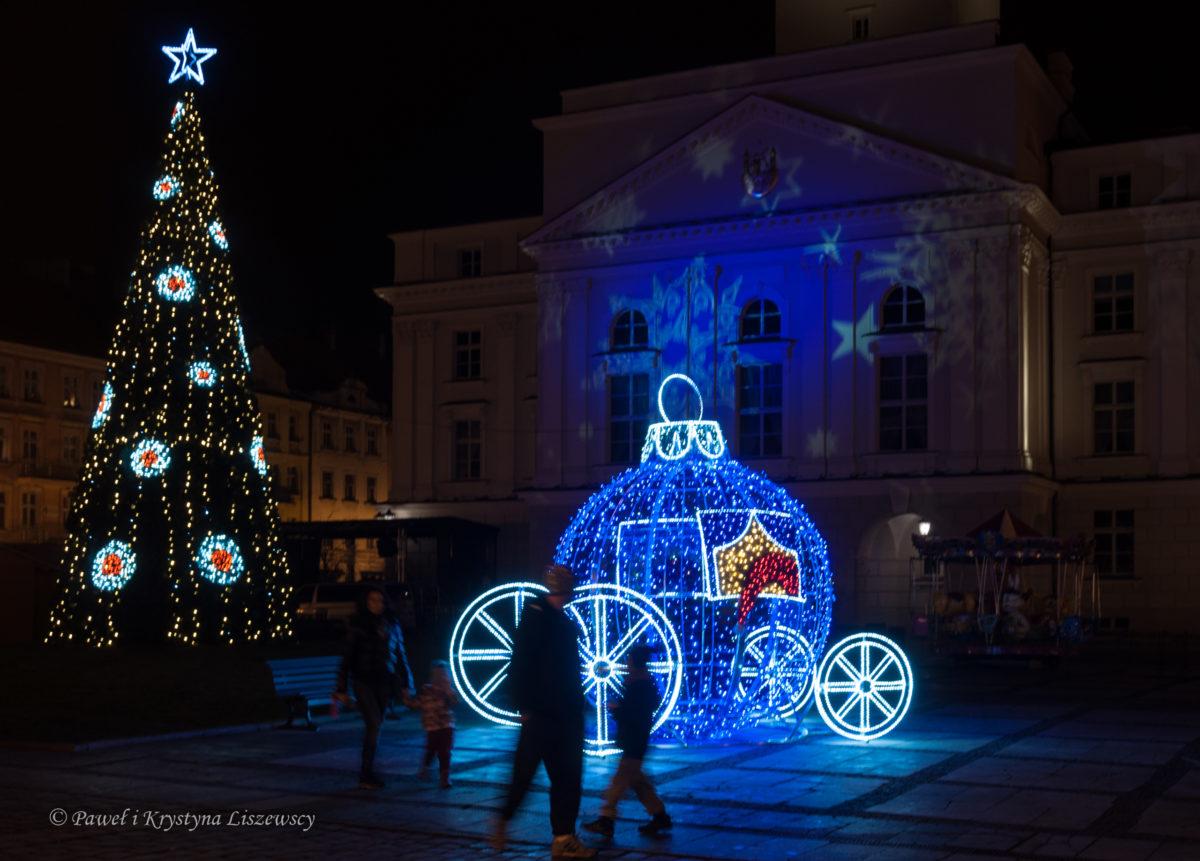 Kalisz świątecznie na Boże Narodzenie