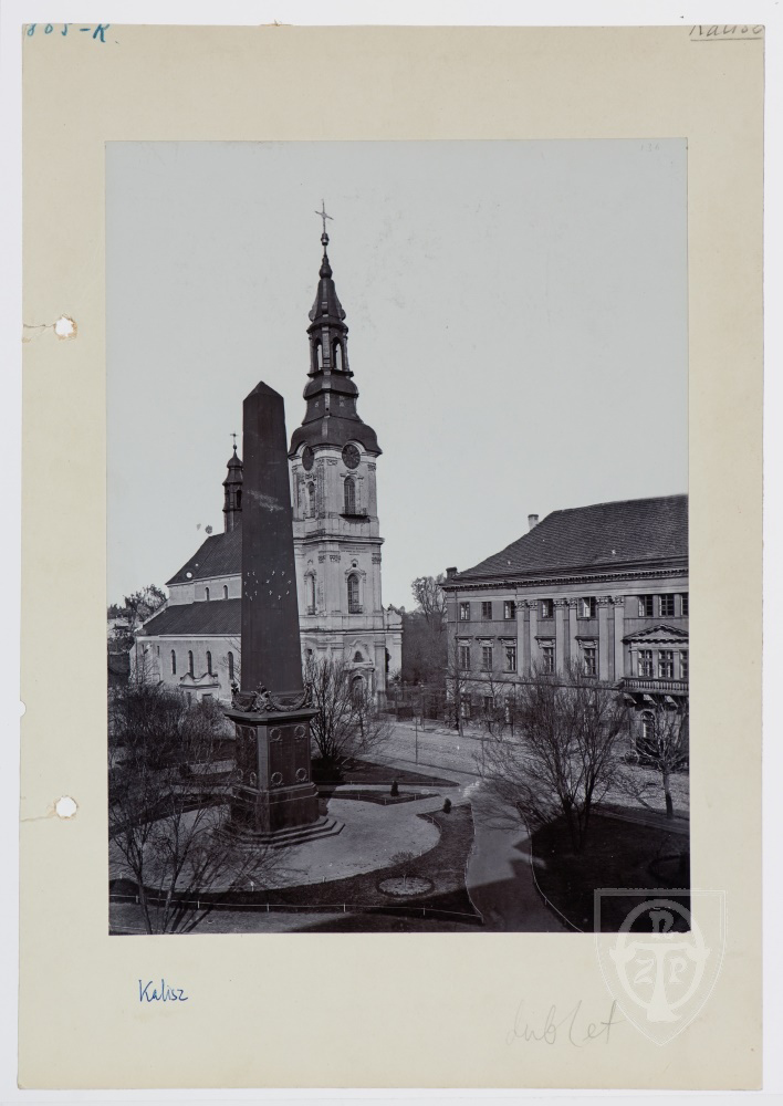 Na chwałę monarchów i papieża – pomniki na Placu św. Józefa – Przewodnik po starym Kaliszu