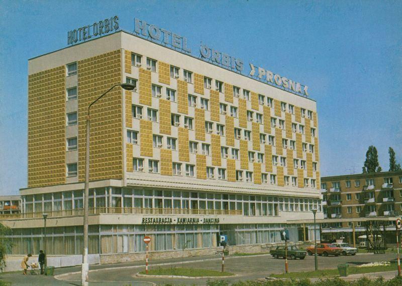 Na Górnośląskiej był tartak braci Znamirowskich, późnej hotel PROSNA a teraz sklep Lidl
