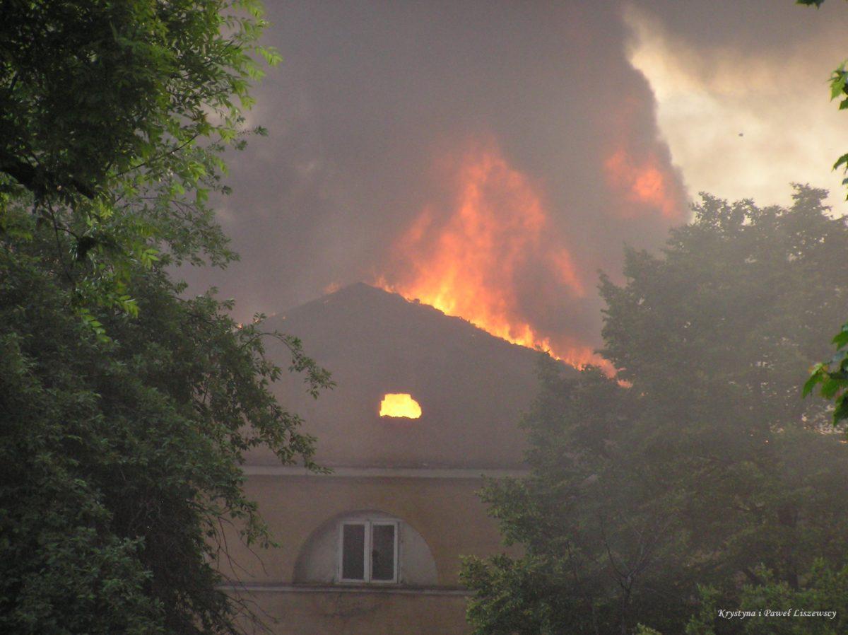 W maju 2006 roku spłonęły zabytkowe Koszary Cypriana Godebskiego przy ul. Babina 16. W akcji gaśniczej brało udział 16 zastępów państwowej i ochotniczej straży pożarnej.