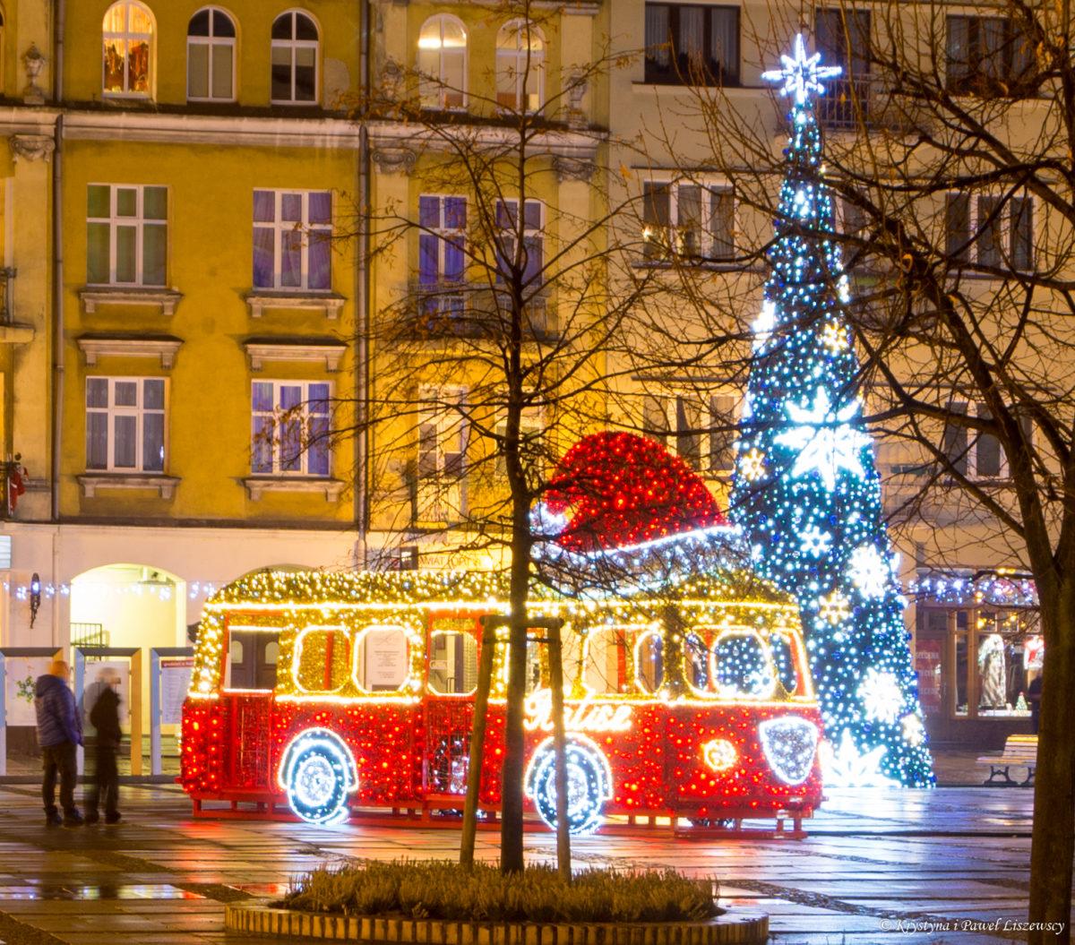 Kalisz świątecznie udekorowany – Boże Narodzenie 2018