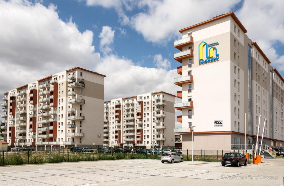 Nowe bloki na Dobrzecu