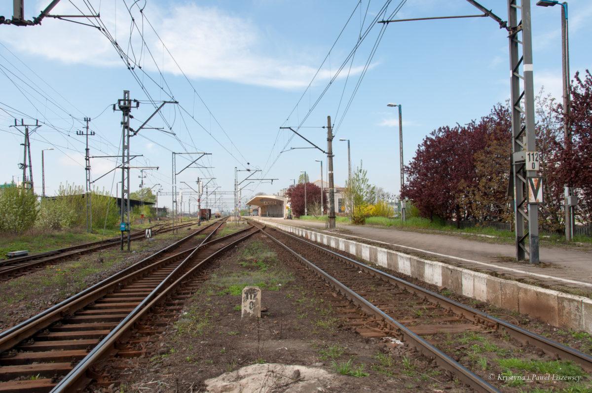 Okolice dworca PKP w Kaliszu
