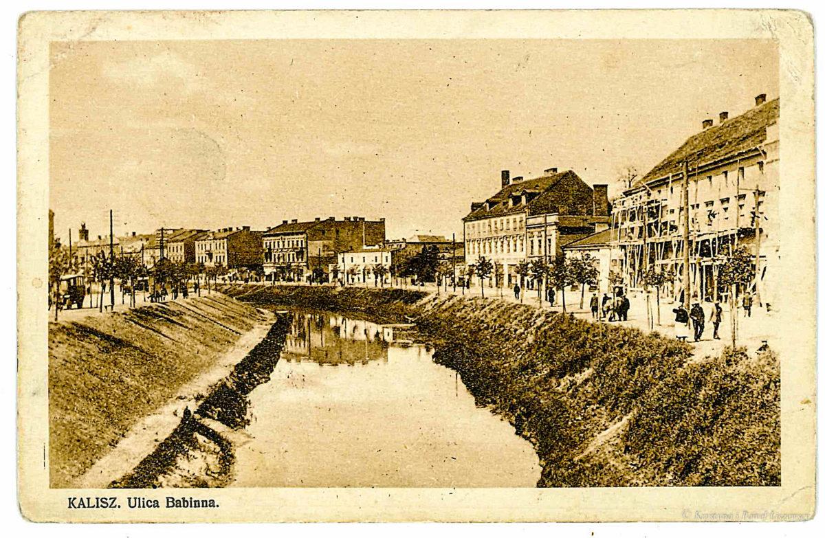Mosty nad kanałem Babinka – przewodnik po starym Kaliszu