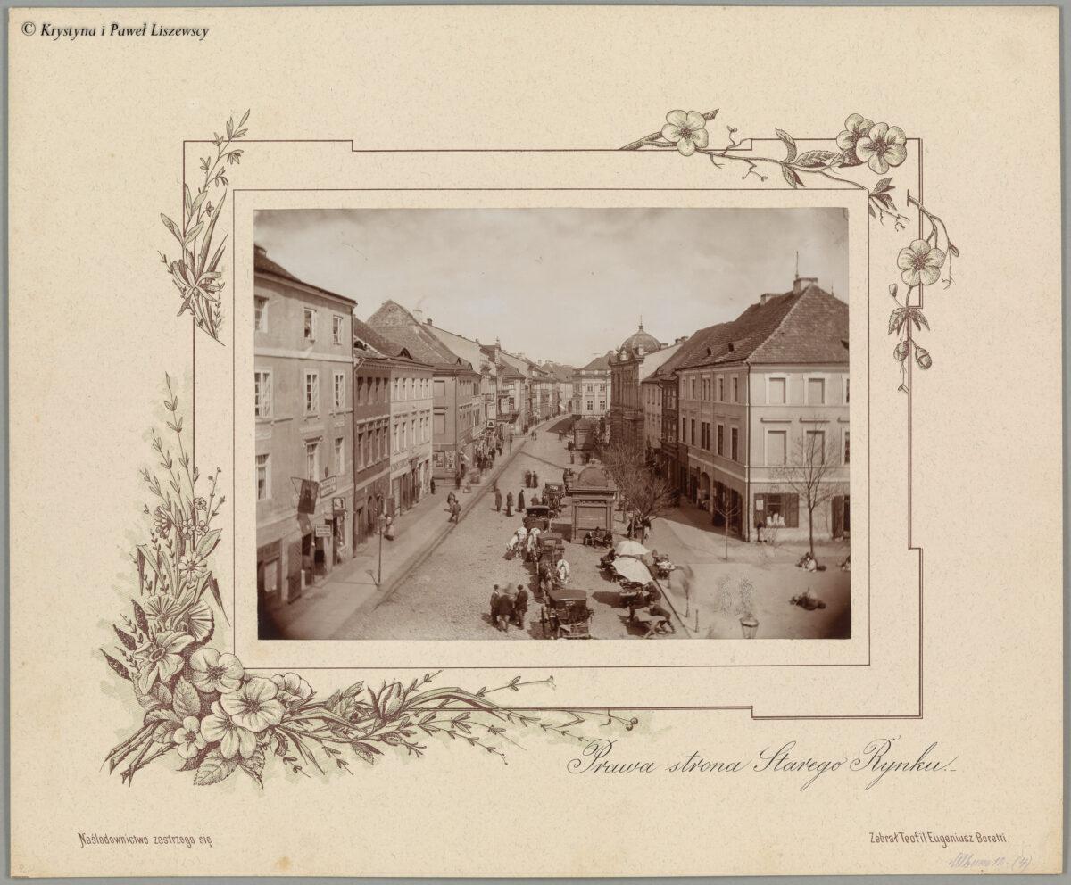 Album z widokami Kalisza z 1896, fotograf Wincenty Franciszek Boretti – Przewodnik po starym Kaliszu
