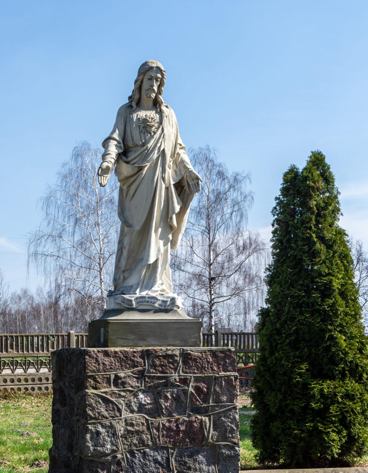 Kalwaria w Kokaninie ozdobiona pracami wybitnego rzeźbiarza Pawła Krzyżanowskiego